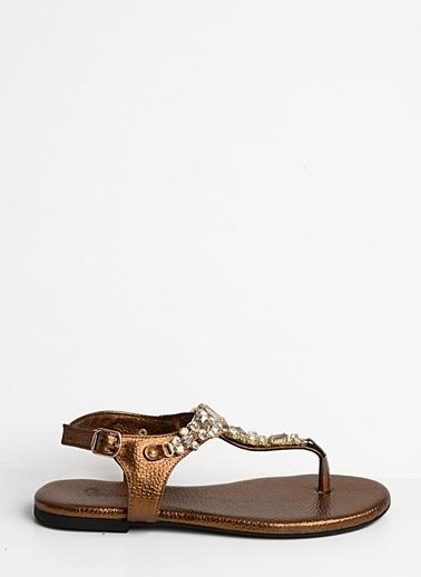 Bambi Sandalet Bakır